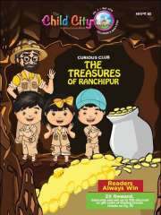 Curious Club - The Treasures of Ranchipur by The Child City Edutainment Magazine Subscription