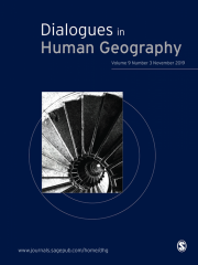 Dialogues in Human Geography Journal Subscription