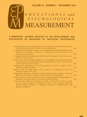 Educational and Psychological Measurement Journal Subscription