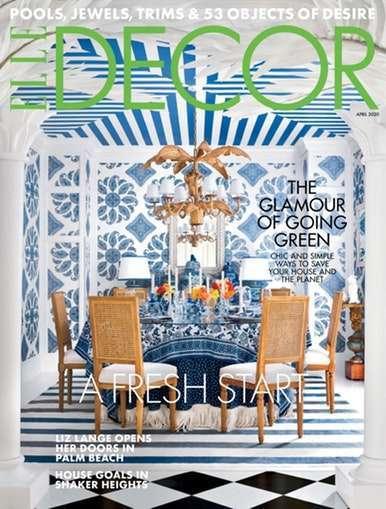Elle Decor - US Edition International Magazine Subscription