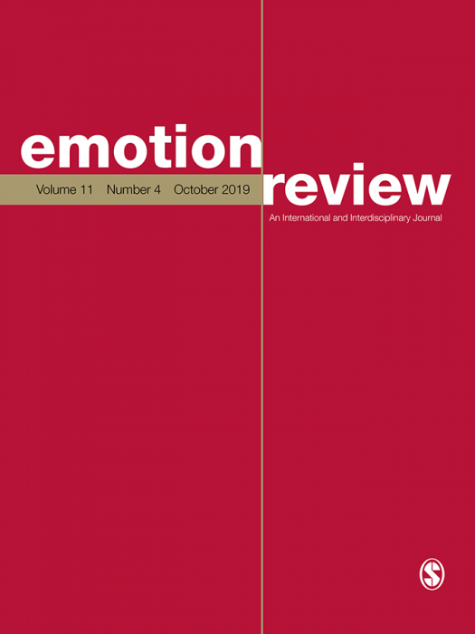 Emotion Review Journal Subscription