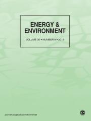 Energy & Environment Journal Subscription