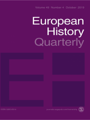 European History Quarterly Journal Subscription
