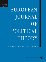 European Journal of Political Theory Journal Subscription