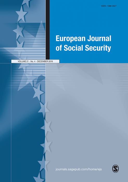 European Journal of Social Security Journal Subscription