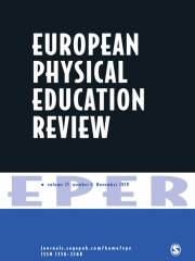 European Physical Education Review Journal Subscription