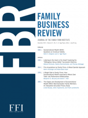 Family Business Review Journal Subscription