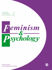 Feminism & Psychology Journal Subscription
