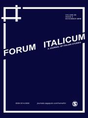 Forum Italicum Journal Subscription
