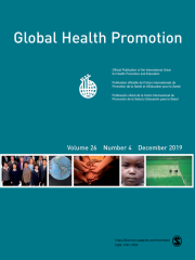 Global Health Promotion Journal Subscription