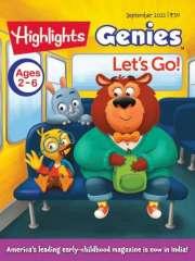 Highlights GENIES Magazine Subscription