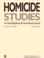 Homicide Studies Journal Subscription