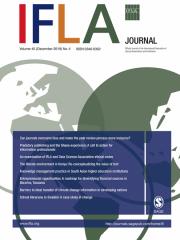 IFLA Journal Journal Subscription