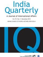 India Quarterly: A Journal of International Affairs Journal Subscription