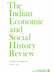 Indian Economic and Social History Review Journal Subscription