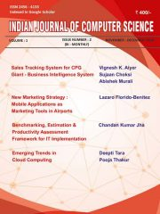 INDIAN JOURNAL OF COMPUTER SCIENCE Journal Subscription