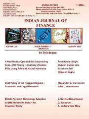 INDIAN JOURNAL OF FINANCE Journal Subscription