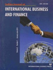 Indian Journal of International Business and Finance Journal Subscription