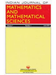 Indian Journal of Mathematics and Mathematical Sciences Journal Subscription