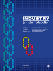 Industry & Higher Education Journal Subscription