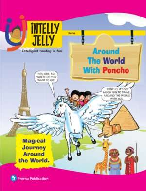 iNTELLYJELLY- Around the World with Poncho Magazine Subscription