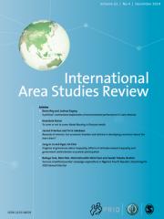 International Area Studies Review Journal Subscription