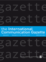 International Communication Gazette Journal Subscription