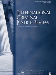 International Criminal Justice Review Journal Subscription