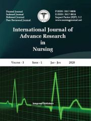 International Journal of Advance Research in Nursing Journal Subscription