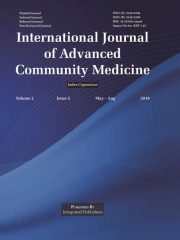 International Journal of Advanced Community Medicine Journal Subscription