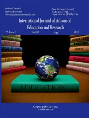 International Journal of Advanced Education and Research Journal Subscription
