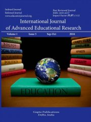 International Journal of Advanced Educational Research Journal Subscription