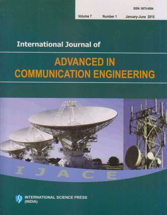 International Journal of Advanced in Communication Engineering Journal Subscription