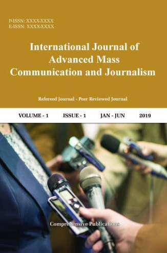 International Journal of Advanced Mass Communication and Journalism Journal Subscription