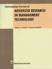 International Journal of Advanced Research in Management and Technology Journal Subscription