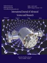 International Journal of Advanced Science and Research Journal Subscription