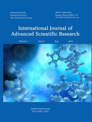International Journal of Advanced Scientific Research Journal Subscription