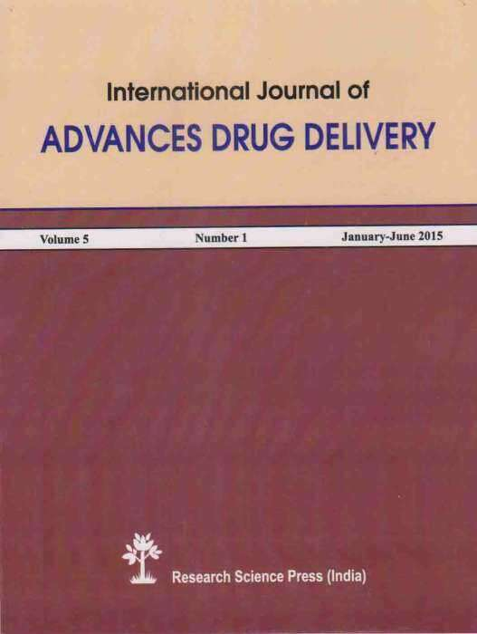 International Journal of Advances Drug Delivery Journal Subscription