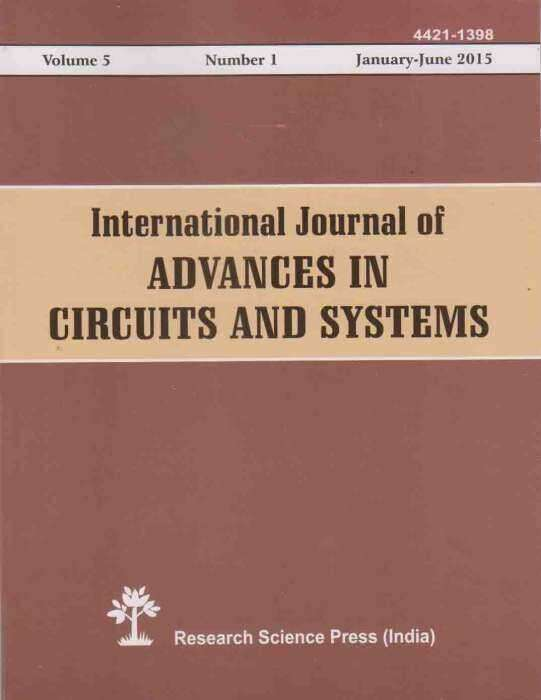 International Journal of Advances in Circuits and System Journal Subscription