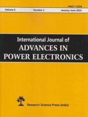 International Journal of Advances in Power Electronics Journal Subscription