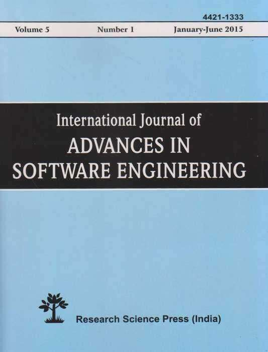 International Journal of Advances in Software Engineering Journal Subscription
