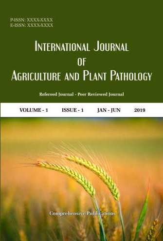 International Journal of Agriculture and Plant Pathology