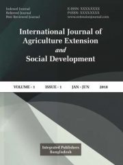 International Journal of Agriculture Extension and Social Development Journal Subscription