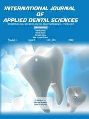 International Journal of Applied Dental Sciences Journal Subscription