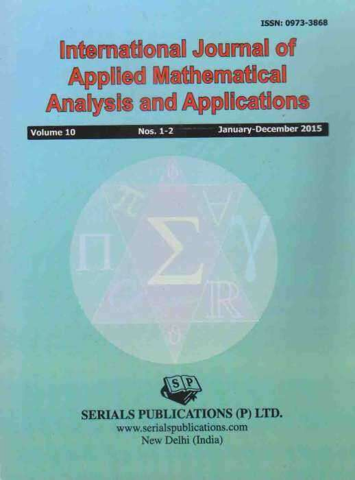 International Journal of Applied Mathematical Analysis and Applications Journal Subscription