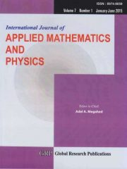 International Journal of Applied Mathematics and Physics Journal Subscription