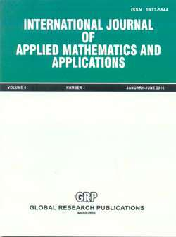 International Journal of Applied Mathematics & Applications Journal Subscription