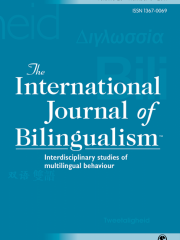 International Journal of Bilingualism Journal Subscription