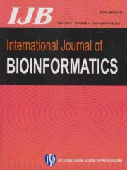 International Journal of Bioinformatics Journal Subscription