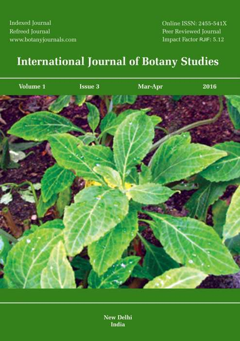 International Journal of Botany Studies Journal Subscription